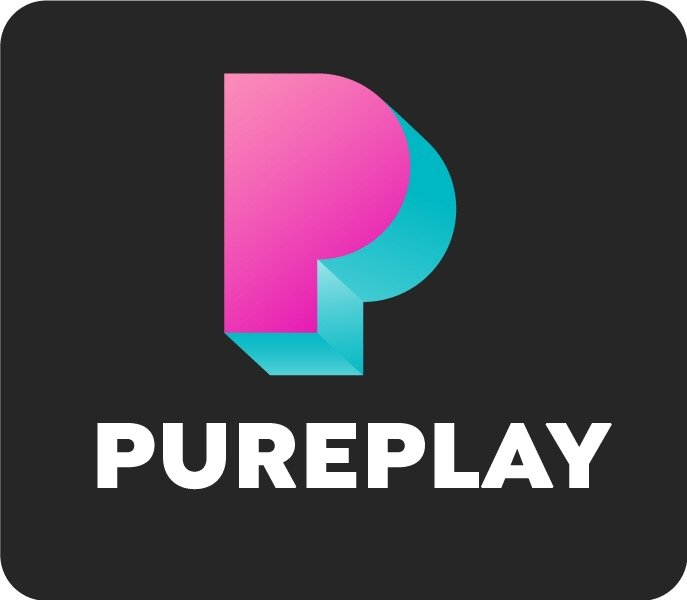 Pureplay logo Svart